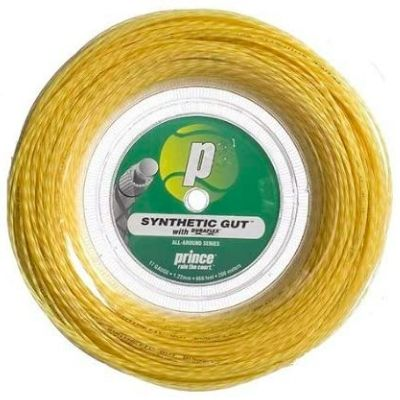 Prince Synthetic Gut with Duraflex 17g White Tennis String
