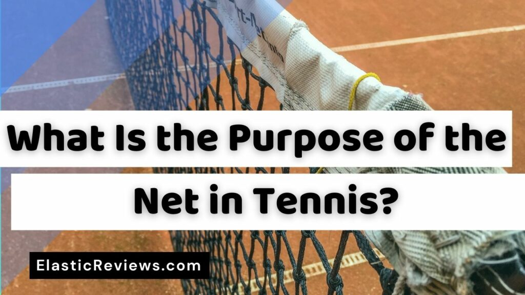 What Is the Purpose of the Net in Tennis